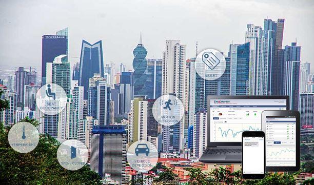 Gestión de edificios y propiedades con sensores de monitoreo inalámbricos MONNIT