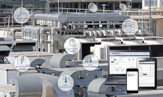 Aplicación de refrigeración con sensores de monitoreo inalámbricos MONNIT