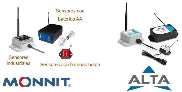 Sensores MONNIT y AlLTA